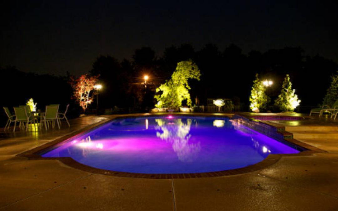 Iluminación para piscinas, ideas originales