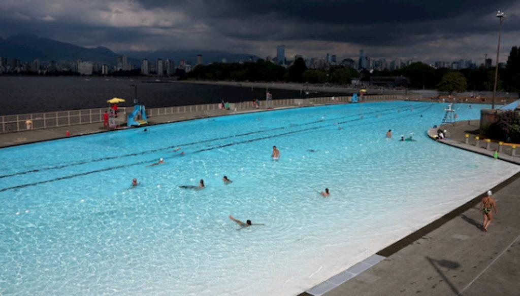 Piscina La reina de Vancouver mejores piscinas urbanas