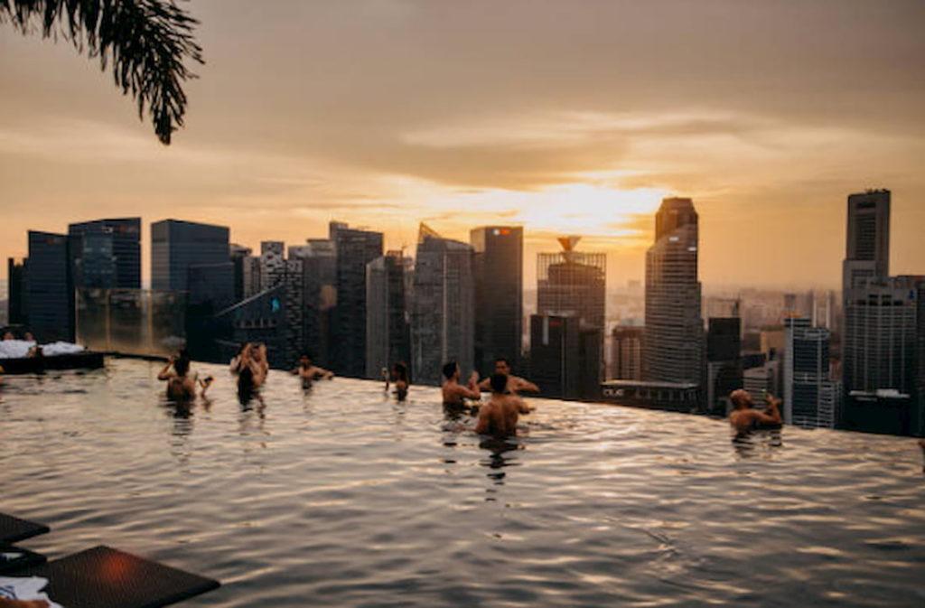 Piscina Marina Bay mejores piscinas urbanas