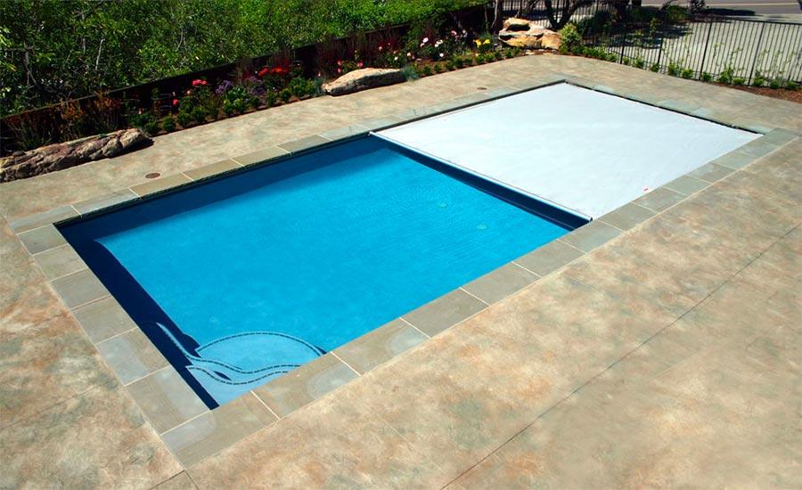 Tipos de protección para la piscina fuera de temporada