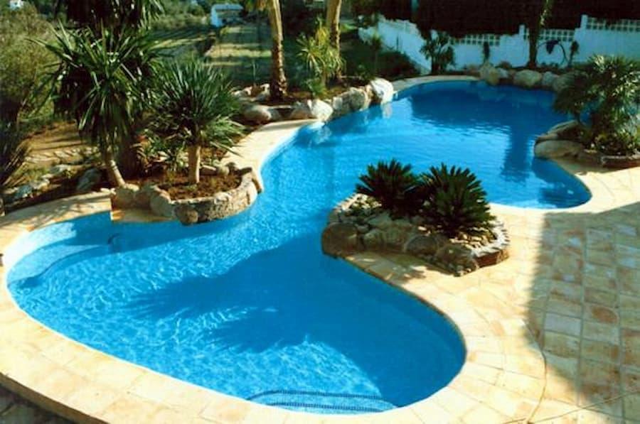 Piscinas de diseño irregular, piscinas con formas originales