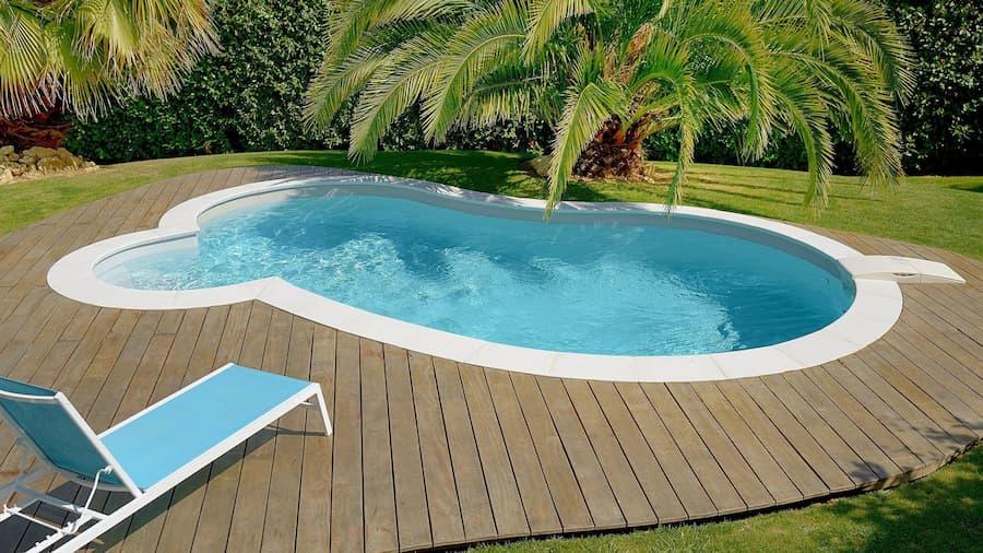 piscinas de riñón, Piscinas con formas originales